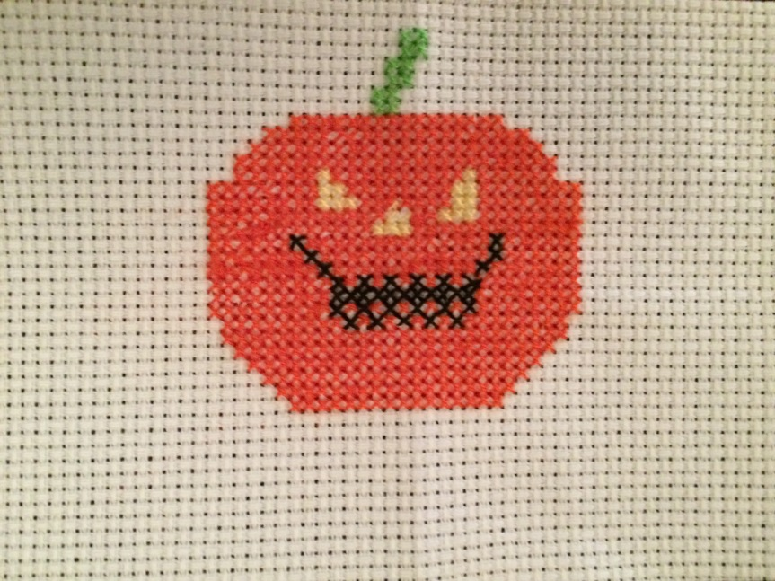 Counted Cross-Stitch:  Conquering a Childhood Fear