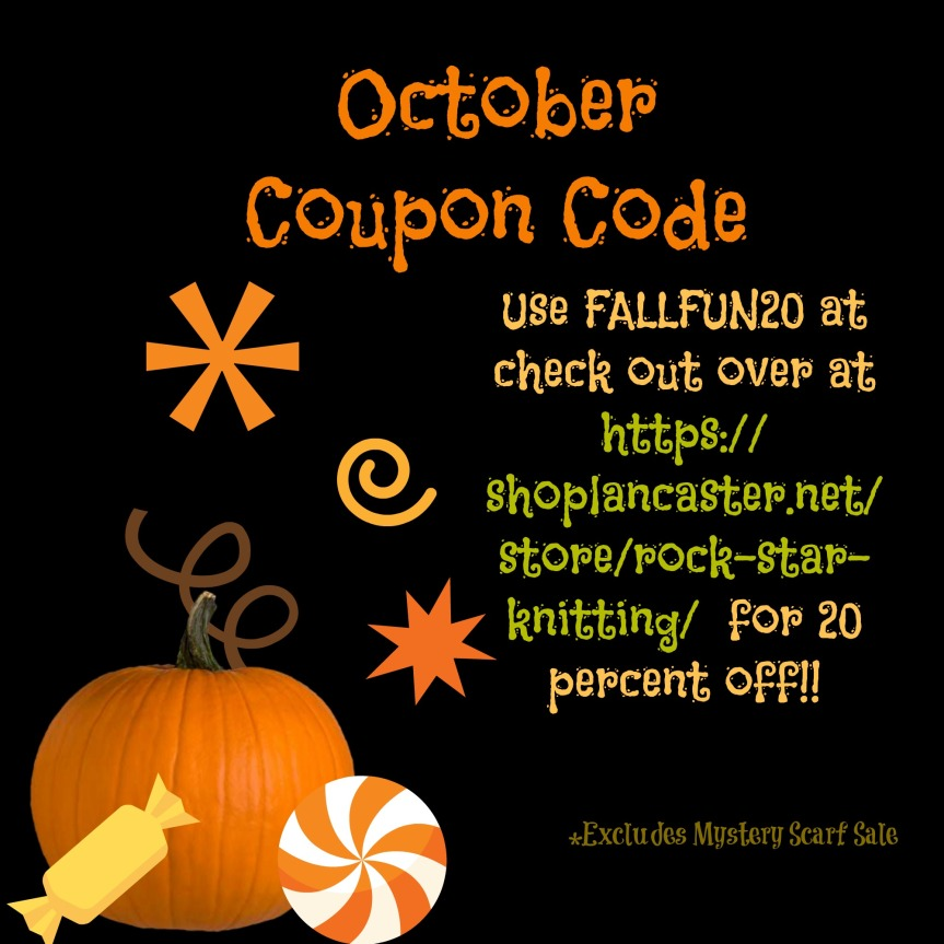 Coupon Code!  Updates!