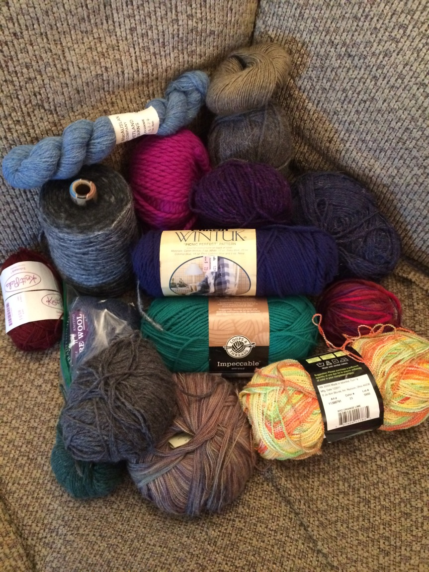 Yarn for The Wrap Up, Lancaster Project