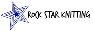Rock Star Knitting Logo