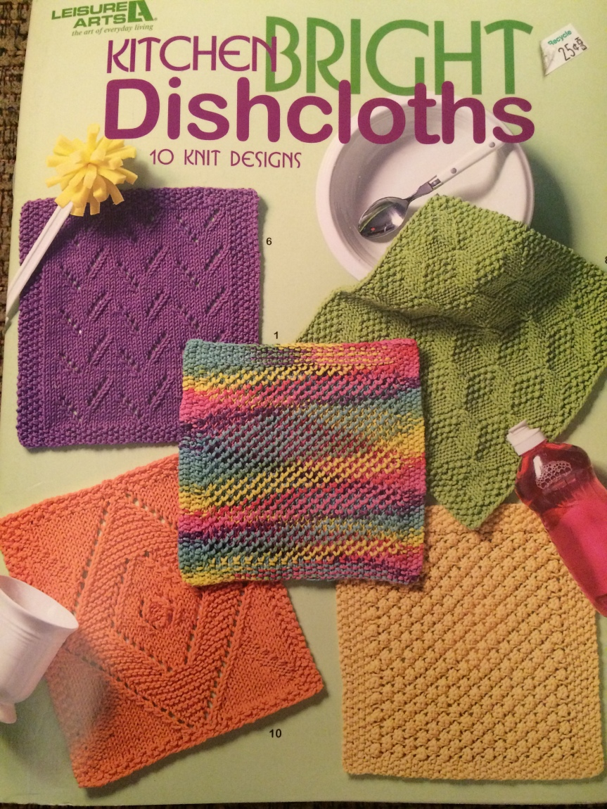 Cover of Leisure Arts' Kitchen Bright Discloths
