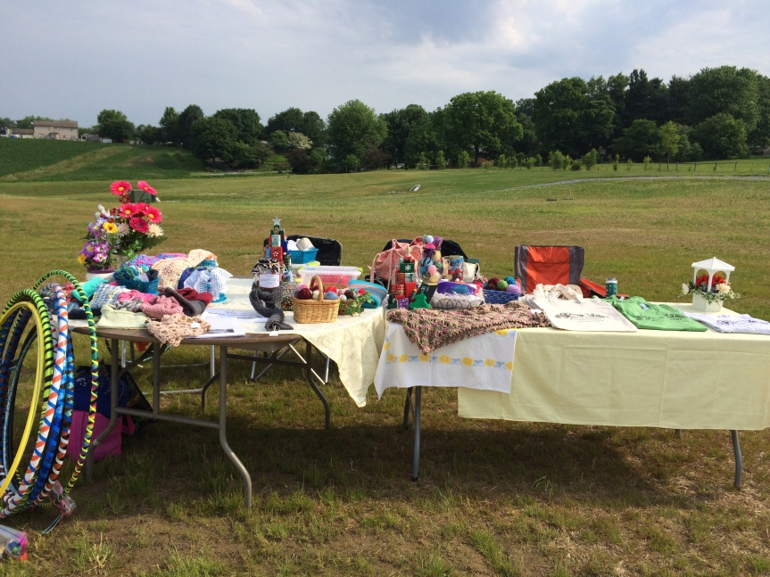 WUL Tables at Millersville Community Church's Family Fun Day on June 11, 2016.