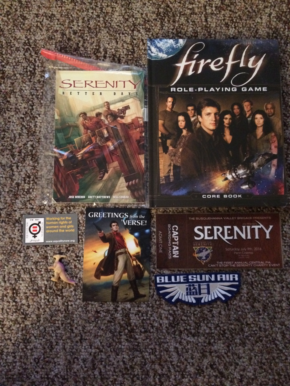 Firefly and Serenity Swag