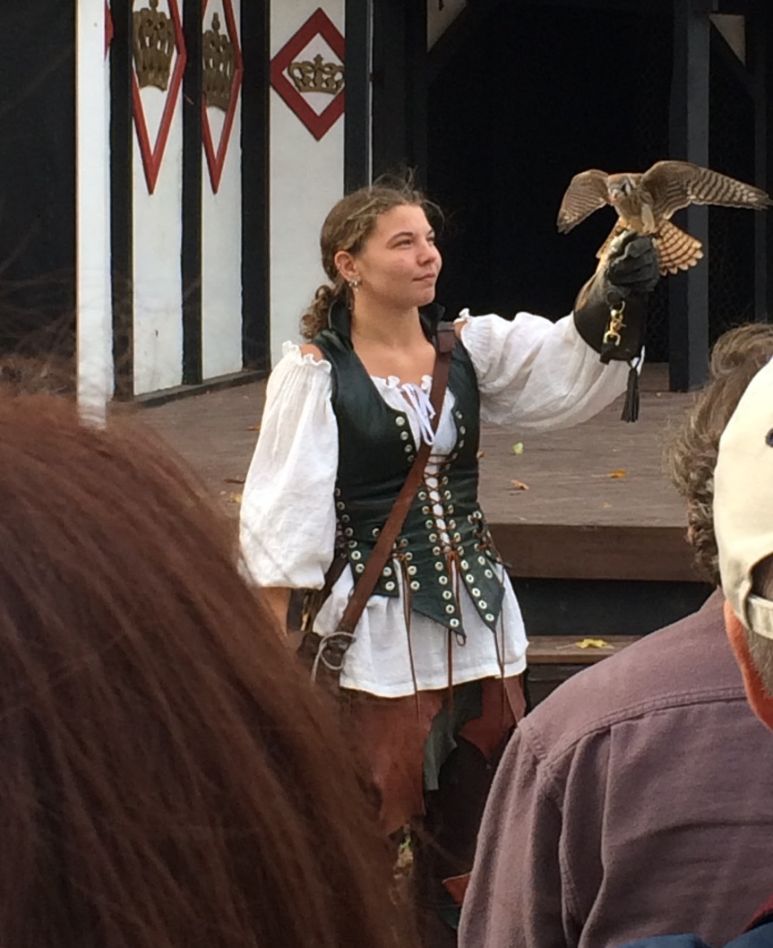 Falconry at the PRF