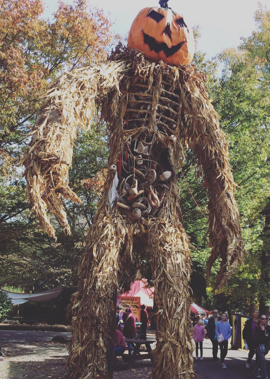 Wickerman at the PRF during Halloween Weekend.