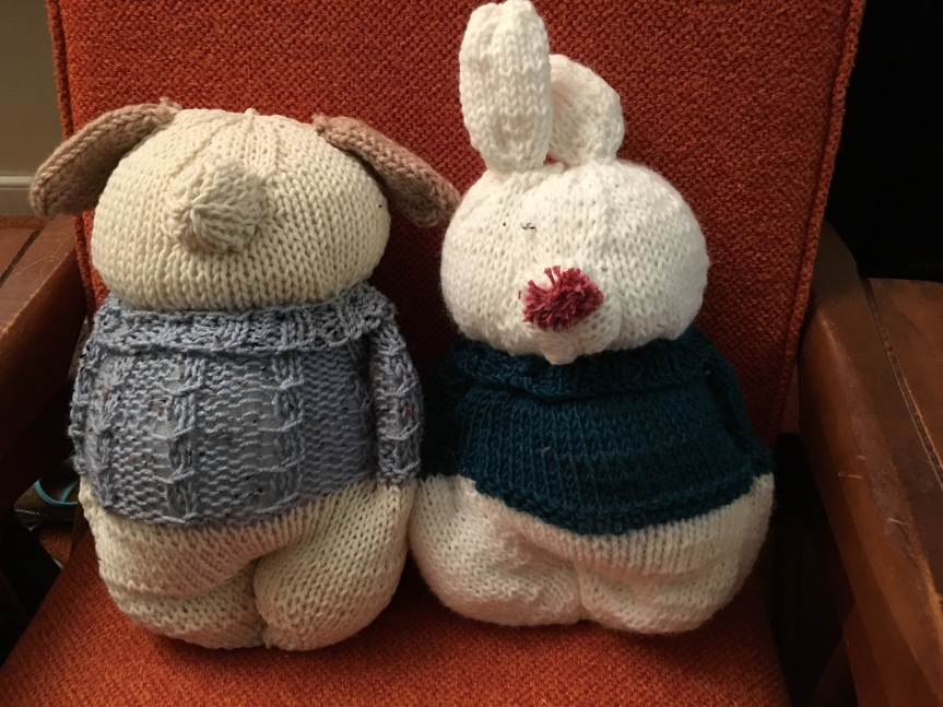 Stuffies, almost done, but no complete faces