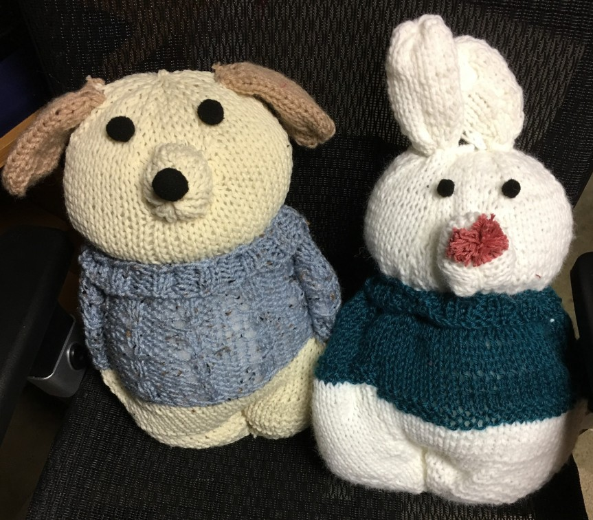 Finished stuffies!!!